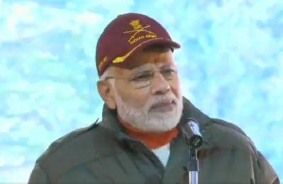 Diwali 2018: PM Narendra Modi celebrates with soldiers near India-China border in Uttarakhand