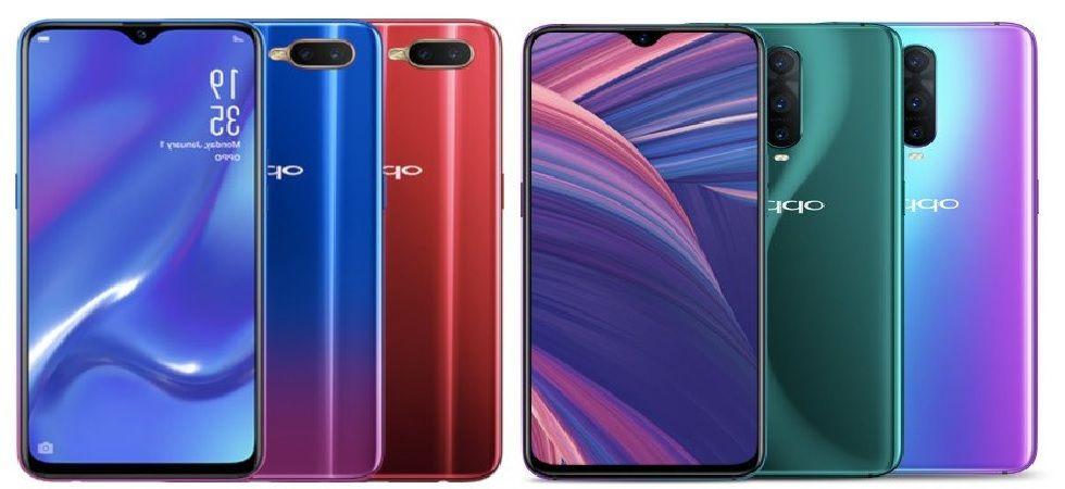 Oppo RX17 Pro, RX17 Neo with waterdrop notch, In-Display Fingerprint scanner launched; know price and specs (Image: Twitter)