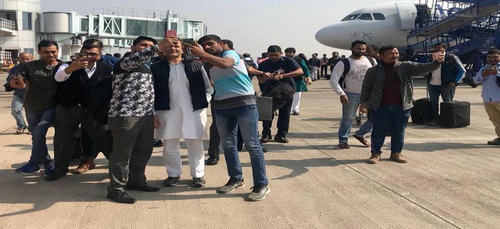 Rahul Gandhi in Chhattisgarh LIVE: Congress chief to held public meeting at Pakhanjore soon (Photo: Facebook/@RahulGandhi)