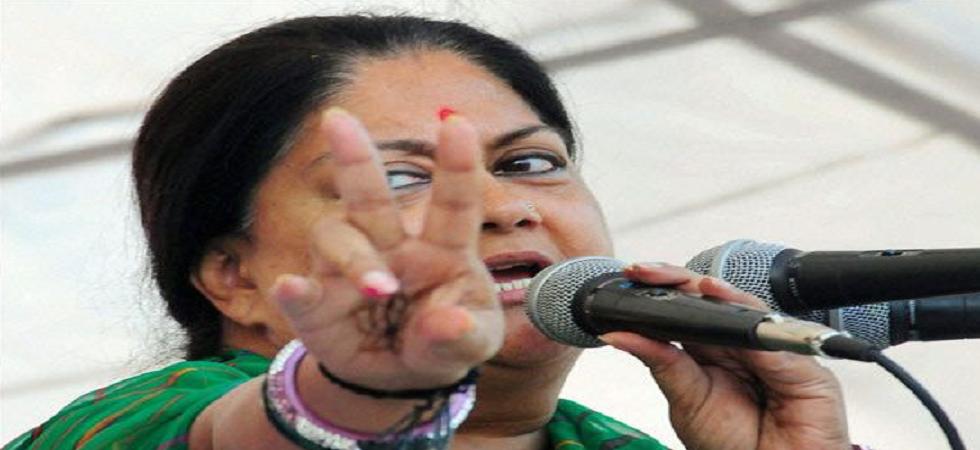 Rajasthan Chief Minister Vasundhara Raje. (PTI/File)