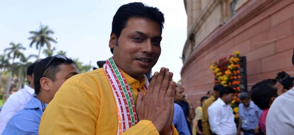 Biplab Deb advises NIT students to become entrepreneurs, not employees (File Photo)