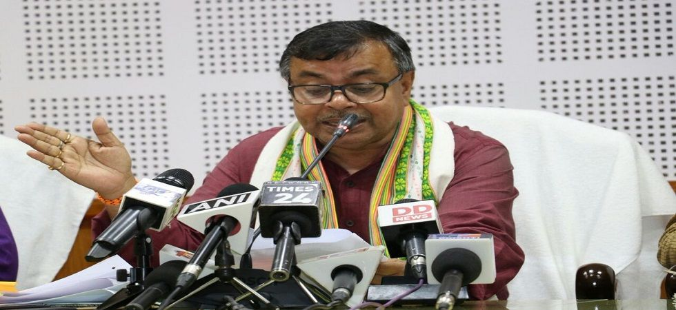 Tripura Law Minister Ratan Lal Nath (Photo- Twitter)