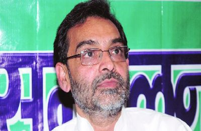 Upendra Kushwaha's supporters protest against Nitish Kumar's 'neech' remark; lathi-charged
