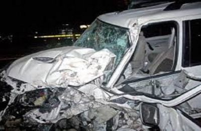 Delhi woman killed, daughter's eye damaged in crash with SUV being driven by 'drunk' woman