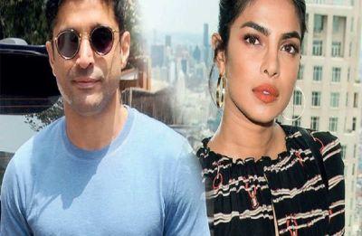 Priyanka Chopra, Farhan Akhtar shoots for 'The Sky is Pink' in Delhi