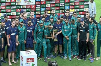 Pakistan vs New Zealand final ODI in Dubai called off due to rain; Teams share trophy