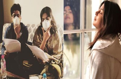 Delhi Pollution leaves 'bride-to-be' Priyanka Chopra alarmed; Watch pictures