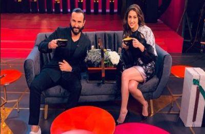 Saif Ali Khan's mention of intimate moments with Kareena Kapoor makes Sara uncomfortable