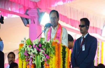 Telangana Assembly Polls: Congress sees red over 'pink' ballot papers