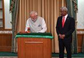 Maldives' Ibrahim Mohamed Solih sworn in as President, PM Modi attends ceremony