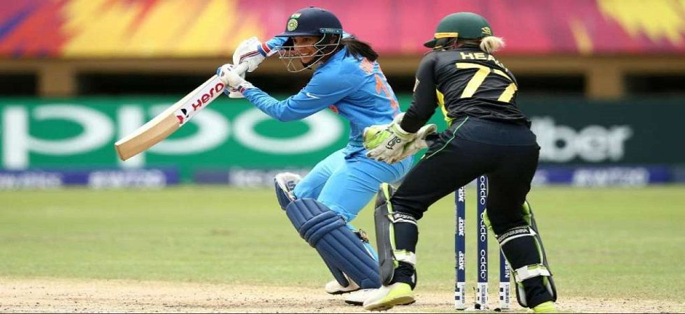Smriti Mandhana blasted a magnificent 83 off 55 balls as India defeated Australia for the first time in the ICC World Twenty20. (Image credit: Twitter)