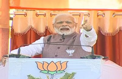 Madhya Pradesh Elections: PM Modi questions Congress over mention of cow in manifesto, says cheating in its blood