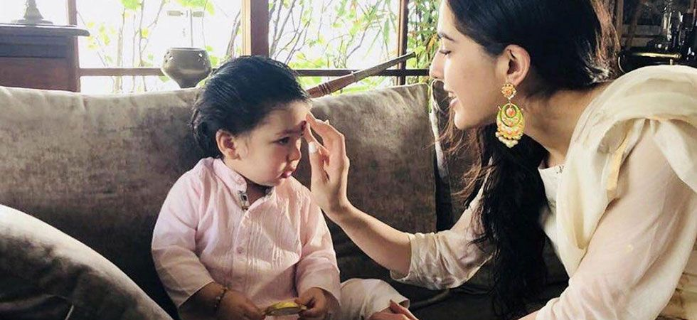 Taimur has the cutest nickname for sister Sara Ali Khan/ Image: Instagram