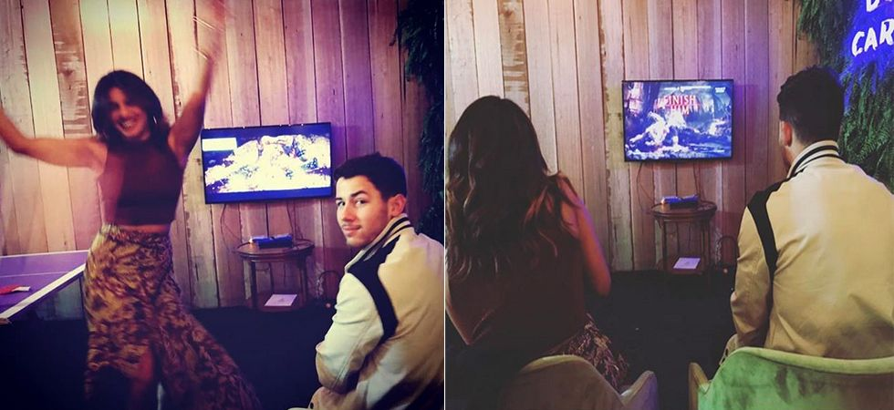 Priyanka Chopra knocks out Nick Jonas in Mortal Kombat/ Image: Instagram