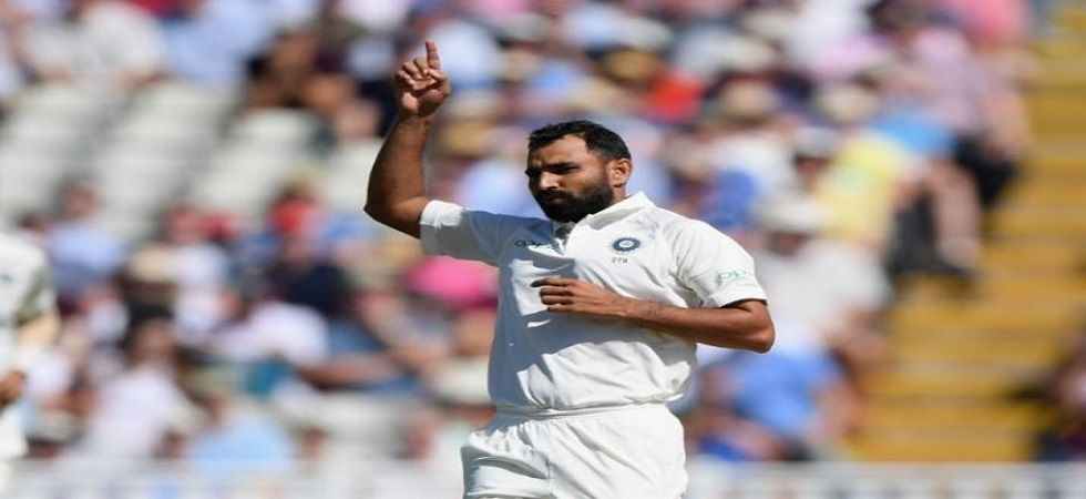 Mohammed Shami impressed with his pace on a green deck in Eden Gardens in the Ranji Trophy encounter between Bengal and Kerala. (Image credit: Twitter)