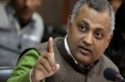 FIR against AAP MLA Somnath Bharti for 'hurling abuses' at woman journalist