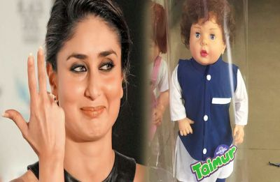Taimur Ali Khan's doll just made a debut in market and we're scarred for life!