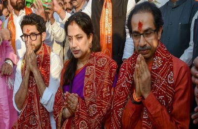 Ayodhya: Uddhav Thackeray takes a dig at PM Modi's '56-inch chest' remark, says one needs guts to build temple