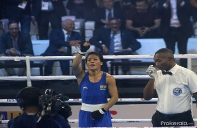 MC Mary Kom secures historic sixth gold medal in Women's World Boxing Championship