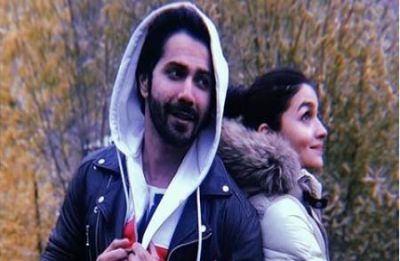 Kalank stars Alia Bhatt, Varun Dhawan wrap 'crazy schedules' with a pizza party