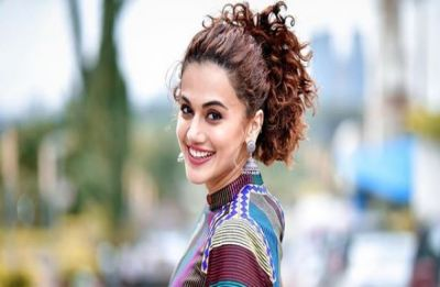 Taapsee Pannu treats fans to a sneak-peak of Mission Mangal donning a yellow saree