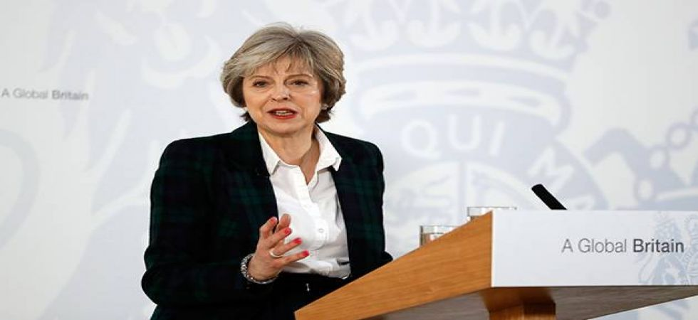 UK Prime Minister Theresa May (File Photo)