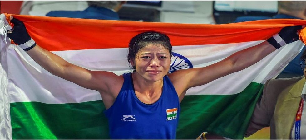 Mary Kom won an unprecedented sixth gold medal in the women's world boxing championship and has now set sights on the 2020 Tokyo Olympics. (Image credit: Twitter)