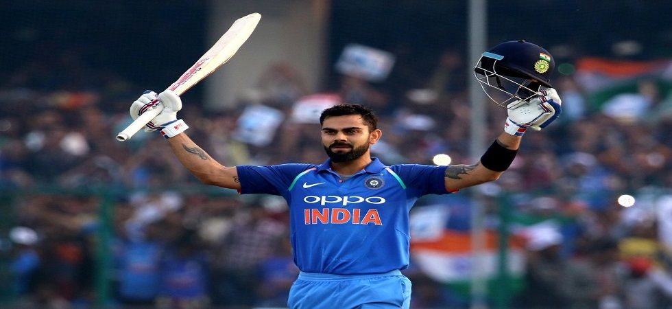 Virat Kohli smashed 61* as India won by six wickets against Australia in Sydney to level the series. Get India vs Australia 3rd t20 live score updates here. (Image credit: Twitter)