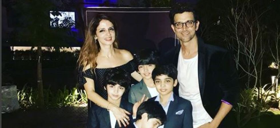 Hrithik Roshan, Sussanne Khan and their kids vacation together (Instagrammed photo)