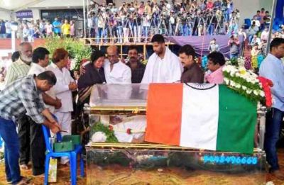 Ambareesh last rites: Former Union minister and Kannada actor left for heavenly abode