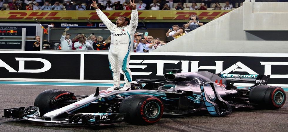 Lewis Hamilton finished the 2018 season with 408 points and won 11 races to cap off a phenomenal year. (Image credit: Twitter)
