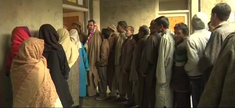 The polling started at 8 am and would end at 2 pm. (Photo: ANI)