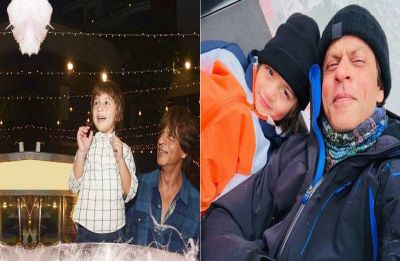 Gauri Khan shares the most adorable picture of Shah Rukh Khan and AbRam and it reminds us of Zero