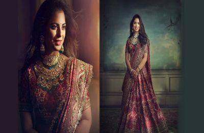Isha Ambani reflects grandeur and royalty in Sabyasachi outfit for Graha Shanti Puja