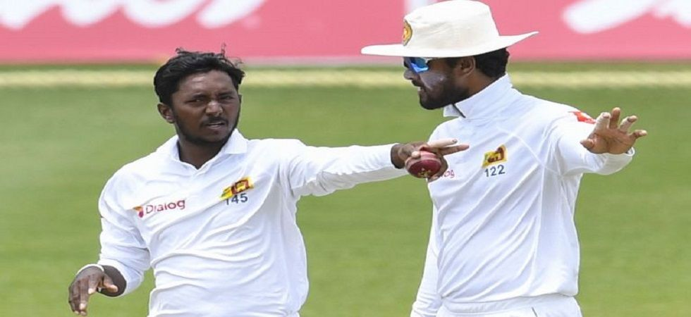 Akila Dananjaya is awaiting the outcome of the results of his bowling action and this has led to his omission for the New Zealand Tests. (Image credit: Twitter)