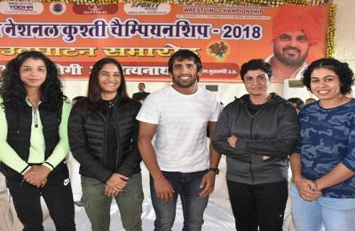 Bajrang Punia, Vinesh Phogat included in Grade A in revolutionary Wrestling Federation of India central contracts system