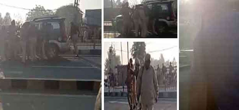 Pathankot: Dressed in Army fatigues, 4 suspected terrorists taken into custody (Video grab)