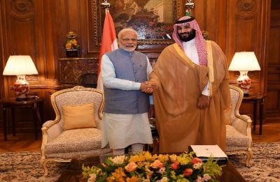 PM Modi meets Saudi Crown Prince Mohammed bin Salman on sidelines of G20 summit