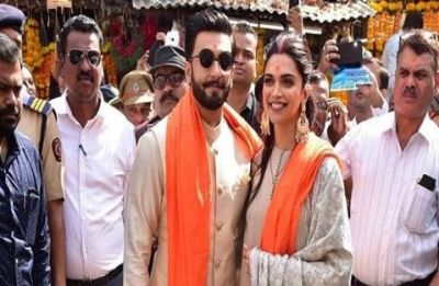 Ranveer Singh and Deepika Padukone seek blessings from Siddhivinayak Lord Ganesha