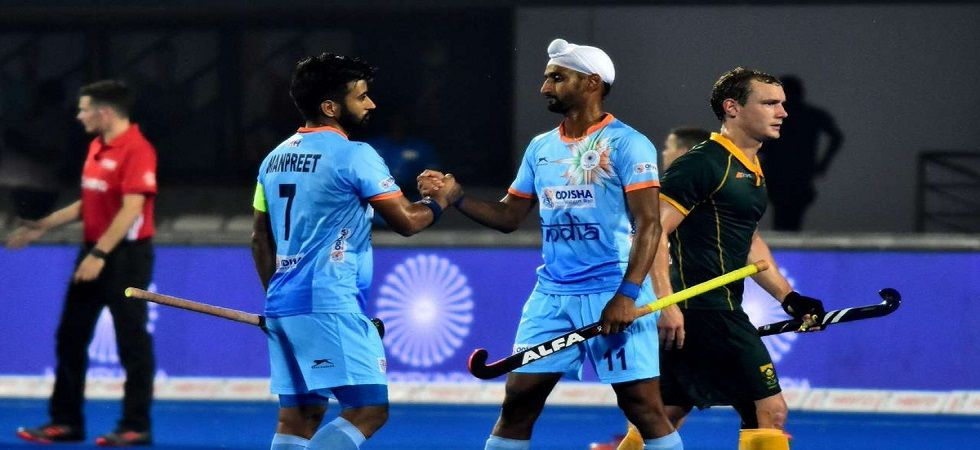 India's last encounter against Belgium was a 1-1 draw in the Champions Trophy earlier in the year. (Image source: Twitter)