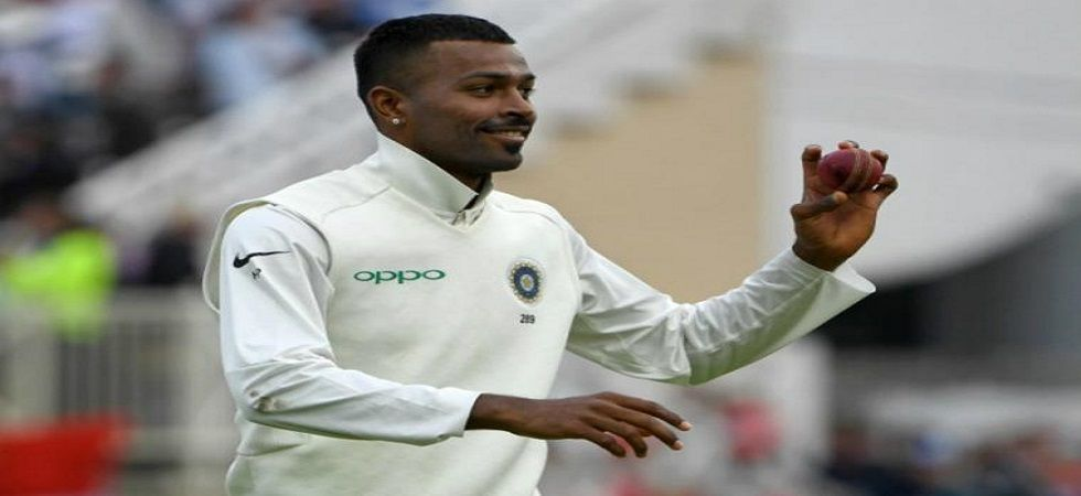 Hardik Pandya will play the Ranji Trophy game against Mumbai as he aims to come back to the Indian side for the Tests against Australia. (Image credit: Twitter)