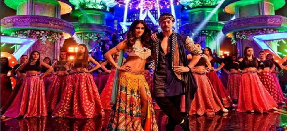 Disha Patani and Tiger Shroff attend Ranveer Singh and Deepika Padukone's wedding reception together (Instagrammed photo)