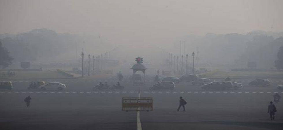 The air quality was recorded in the 'very poor' category, according to the System of Air Quality and Weather Forecasting and Research (SAFAR)