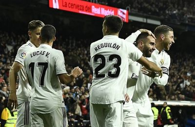 Real Madrid beat Valencia, win sixth game out of seven to close gap on Barcelona in La Liga