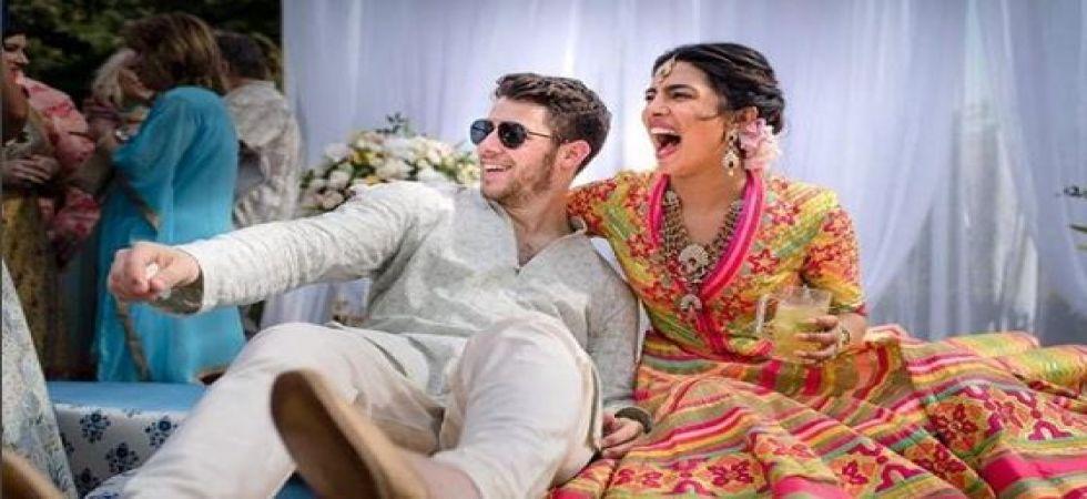 Priyanka Chopra and Nick Jonas's families play cricket match before the wedding (Instagrammed photo)
