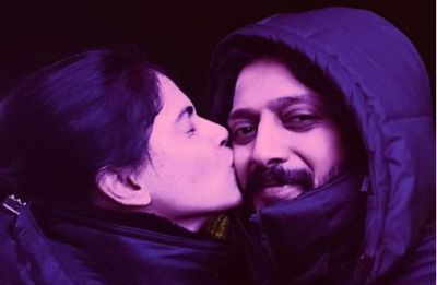 Riteish Deshmukh and wife Genelia D'Souza reunite for a song in 'Mauli'