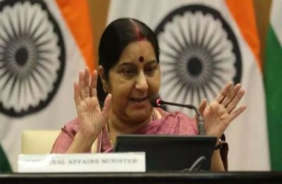 Pakistan has no respect for Sikh sentiments, Sushma Swaraj on Qureshi's 'googly' remark
