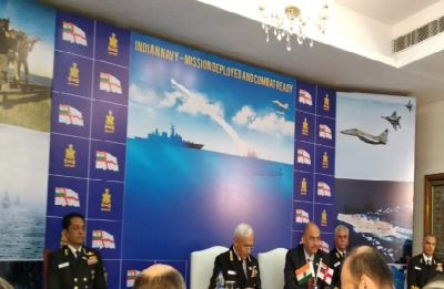 Indian Navy 'overwhelmingly' ahead of Pakistan, 'more than capable' for China: Admiral Sunil Lanba