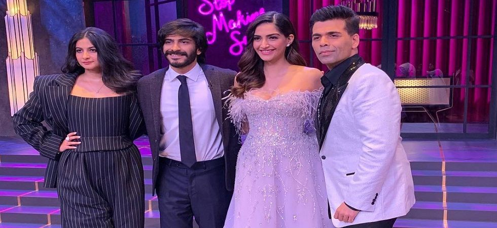 Sonam K Ahuja, Harshvardhan Kapoor, Rhea to appear at Koffee With Karan 6 together (Photo: Twitter)