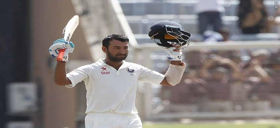 Cheteshwar Pujara and his milestone coincidences with Rahul Dravid are simply unbelievable. (Image credit: Twitter)